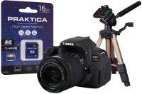 Canon EOS 700D Black Camera Kit inc 18-55mm IS STM Lens  16GB & Desktop Tripod