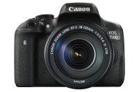 Canon EOS 750D SLR Camera Black 18-135mm IS STM 24MP 3.0Touch LCD FHD WiFi