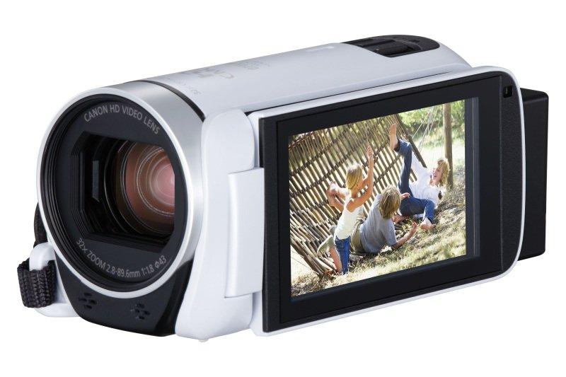 Canon Legria HF R806 Camcorder White FHD Flash