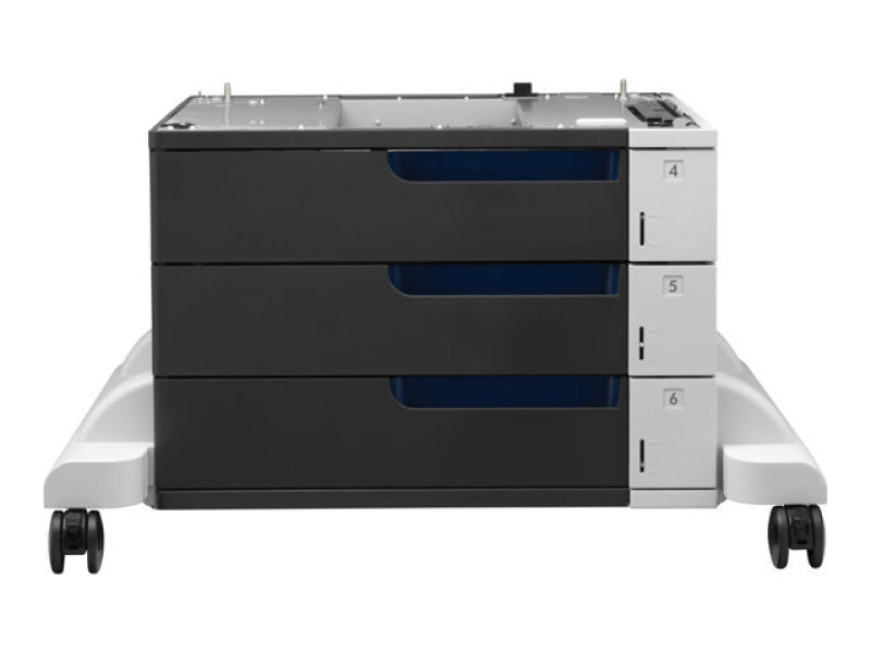 Image of HP PageWide Enterprise 3x500 sheet Paper Tray and Stand