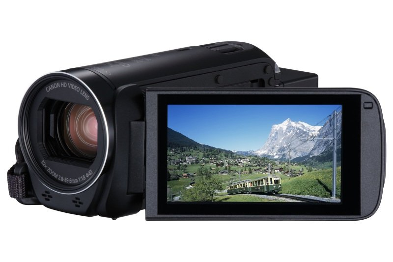 Canon Legria HF R88 Camcorder Black 16GB FHD WiFi inc Wide-Angle Adapter