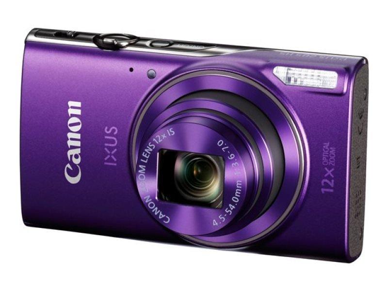 Canon IXUS 285 HS - Digital camera - compact - 20.2 MP - 1080p / 30 fps - 12x optical zoom - Wi-Fi, NFC - Purple