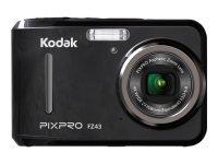 Kodak PIXPRO FZ43 Camera 16MP 4xZoom 2.7LCD 27mm Wide AA Batteries Black