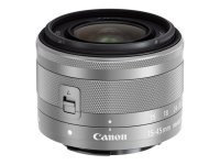 Canon EF-M 15-45mm f3.5-6.3 IS STM Lens Silver