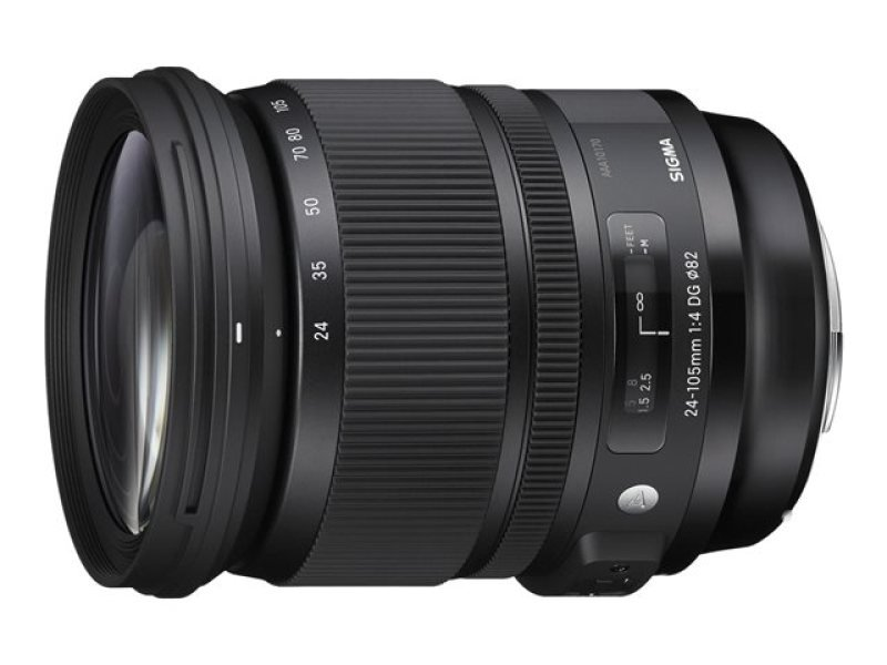 Sigma 24-105mm f/4.0 DG HSM Optical Stabilised Wide Telephoto Lens Nikon Fit