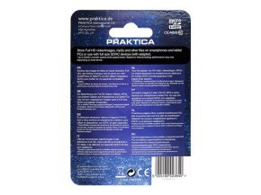 PRAKTICA 8GB Class 10 MicroSD Memory Card inc SD Adapter WP240 Z212