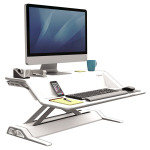 Fellowes Lotus Sit Stand Workstn Wh