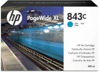 HP 843C 400-ml Cyan PageWide XL Ink Cartridge