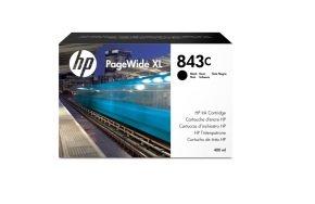 HP 843C 400-ml Black PageWide XL Ink Cartridge