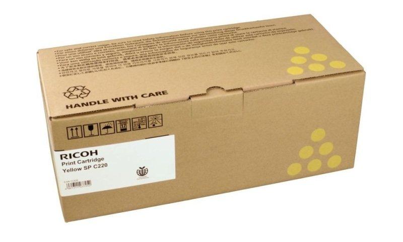 Ricoh 407643 Toner Cartridge Yellow