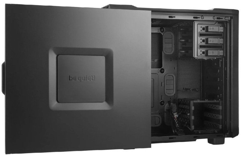 EXDISPLAY BeQuiet Silent Base 600 Black Gaming Case