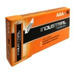 Duracell 10 X AAA Industrial Alkaline Battery - Orange