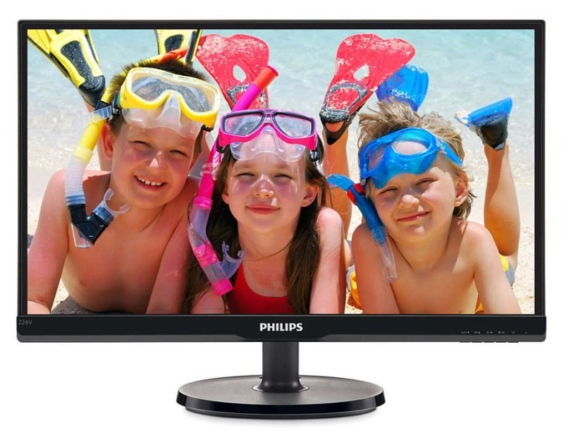 "Philips 226V6QSB6 21.5"" IPS Full HD Monitor"