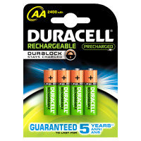 Duracell Batteries - Duracell Precharged Aa 4 Pack