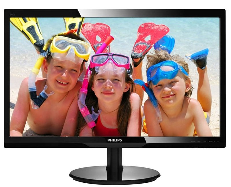 "Philips 246V5LDSB 24"" Full HD HDMI Monitor"