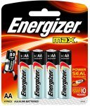 Energizer Max Batteries Aa Pk 4 Plus 2