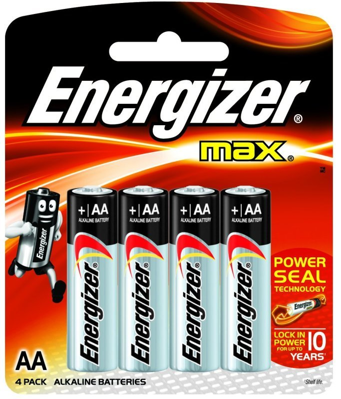 Energizer Max Batteries Aa Pk 4 Plus 2