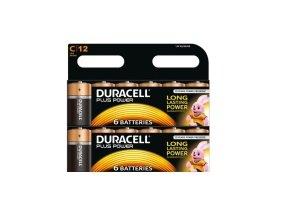 Duracell Batteries C Tub 12