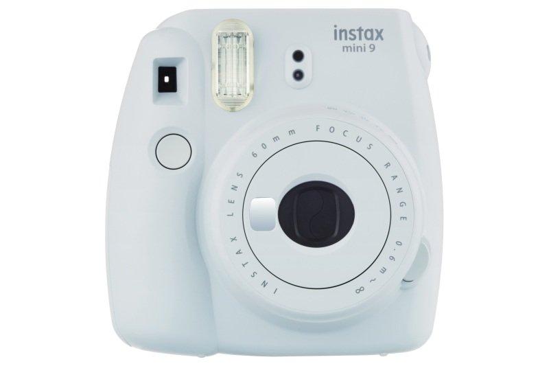 Fujifilm Instax Mini 9 Smoky White Instant Camera inc 10 Shots