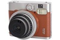 Fujifilm Instax Mini 90 Instant Camera - Brown inc 10 Shots
