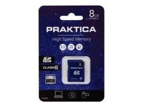 PRAKTICA 8GB SDHC Card - Class 10