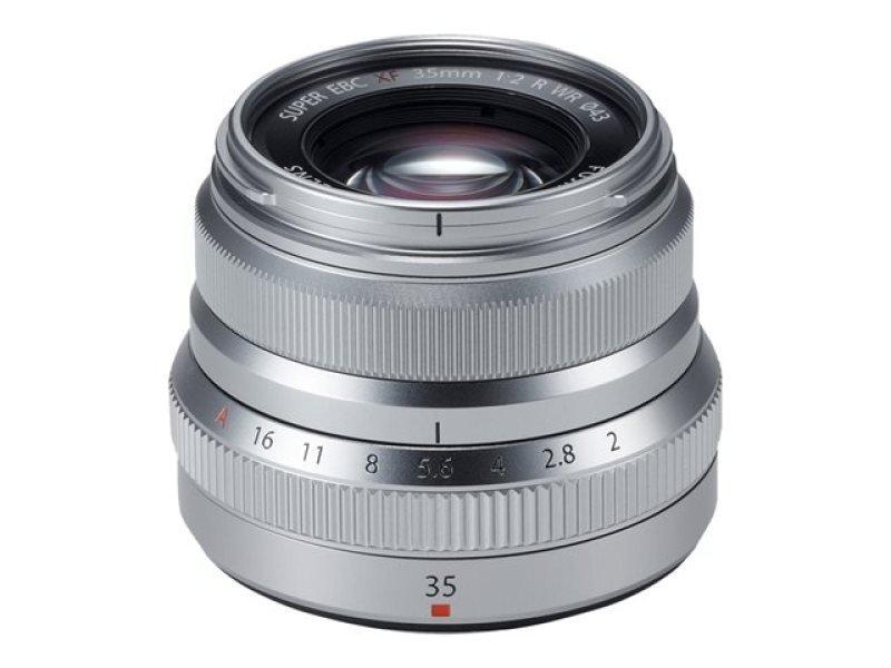 Fujifilm XF-35mm f2.0 WR Lens - Silver