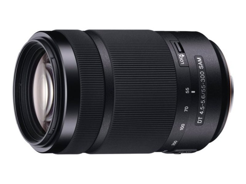 Sony SAL55300 55-300mm f/4.5-5.6 SAM Telephoto Lens A Mount for Alpha series