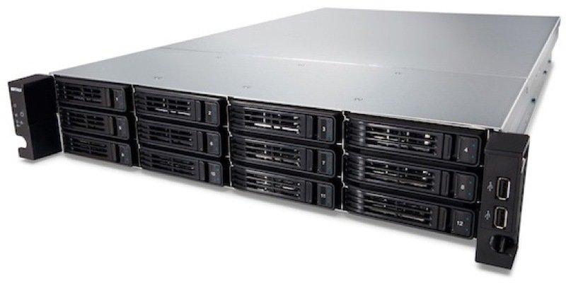 Buffalo TS-2RZH120T12DEU 120TB (12x10TB) TeraStation 7120r 12 Bay 2U Rack
