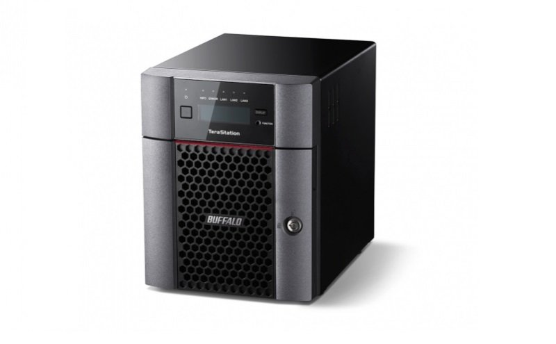 Image of Buffalo 16TB TeraStation 5410DN 4 Bay Desktop NAS