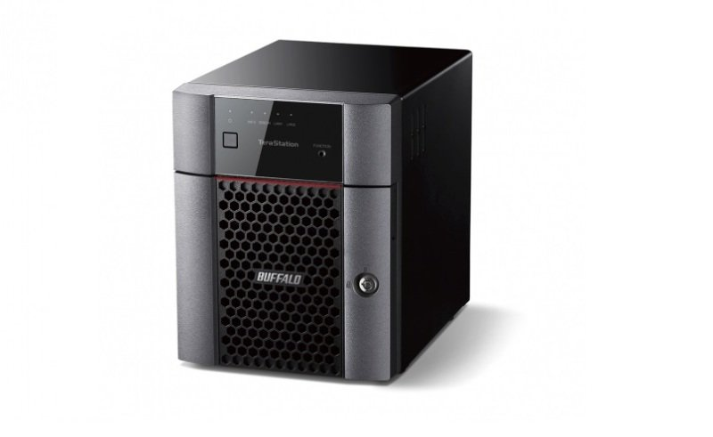 Image of Buffalo 16TB TeraStation 3410DN 4 Bay Desktop NAS