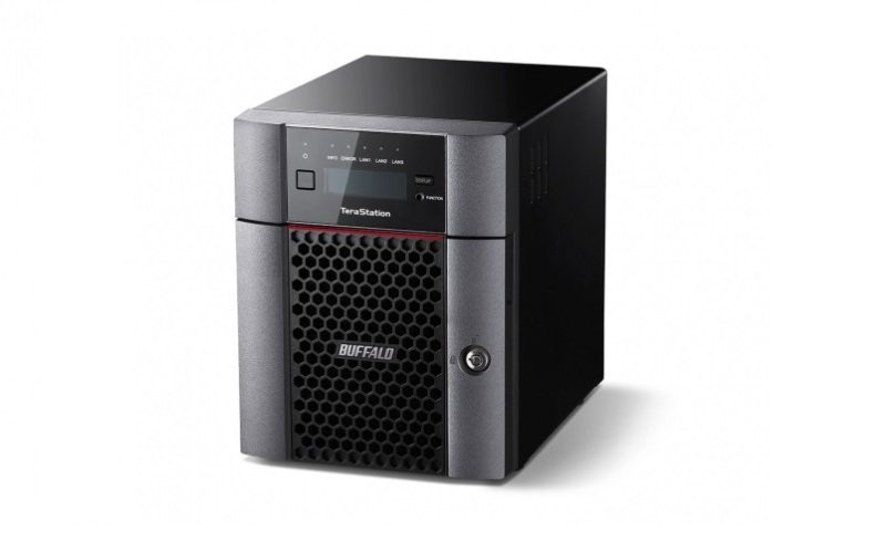 Image of Buffalo 12TB TeraStation 5410DN 4 Bay Desktop NAS
