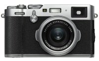 Fujifilm X100F CSC Camera Silver 23mm f/2.0 Fujinon Lens Kit 24.3MP 3.0LCD
