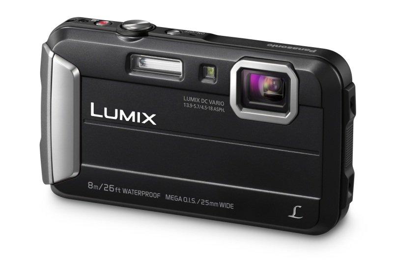 Panasonic DMC-FT30 Tough Camera Black 16.1MP 4xZoom 2.7LCD 720pHD 25mm Wtprf