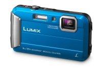 Panasonic DMC-FT30 Tough Camera Blue 16.1MP 4xZoom 2.7LCD 720pHD 25mm Wtprf