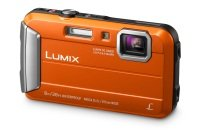 Panasonic DMC-FT30 Tough Camera Orange 16.1MP 4xZoom 2.7LCD 720pHD 25mm Wtprf