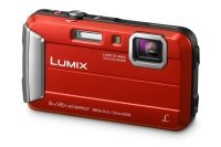 Panasonic DMC-FT30 Tough Camera Red 16.1MP 4xZoom 2.7LCD 720pHD 25mm Wtprf