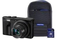 Panasonic Dmc-tz80 Black Camera Kit Inc Case & 16gb Sd Card
