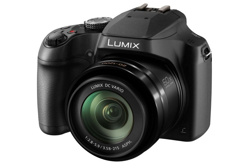 Panasonic DC-FZ82 Camera Black 18.1MP 60x Zoom 3.0LCD FHD 20mm Lumix DC Vario