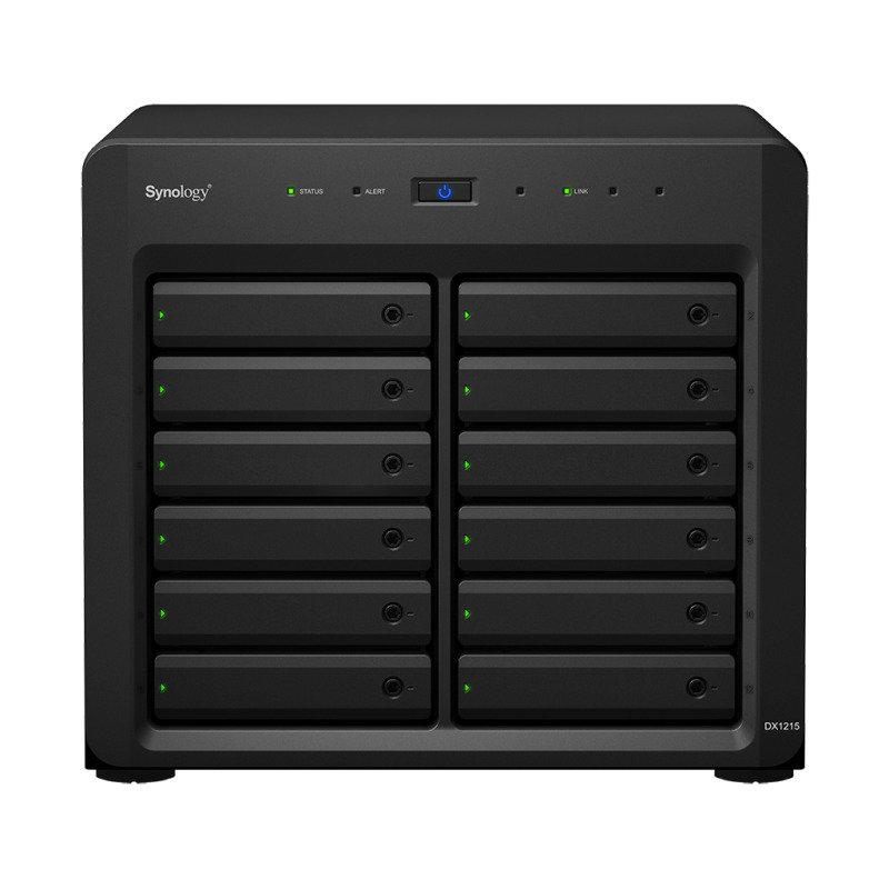 Synology DX1215 96TB (12 x 8TB SGT-IWPRO) 12 Bay Desktop Expansion