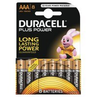AAA Duracell Batteries Pk8