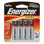 Energizer Max E91/aa Pk4