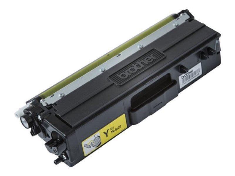 Brother TN910Y Ultra High Yield Yellow Toner Cartridge
