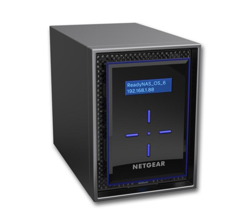 Netgear ReadyNAS 422 4TB (2 x 2TB) 2GB RAM 2 Bay NAS