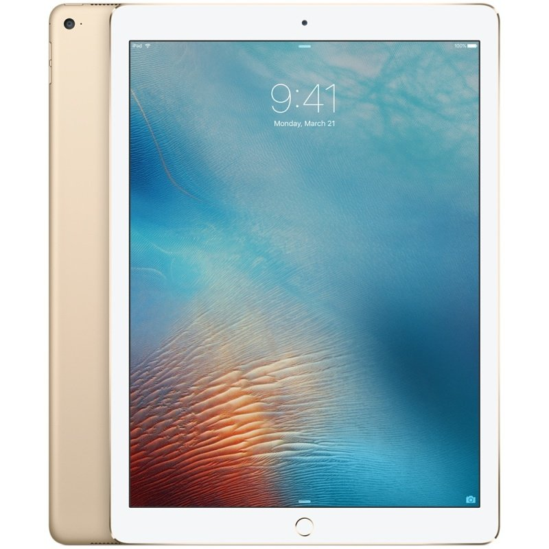 "Apple iPad Pro 12.9"" 512GB 4G Cellular + WiFi Tablet - Gold..."