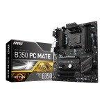 EXDISPLAY MSI AMD AM4 Ryzen B350 PC MATE ATX Motherboard