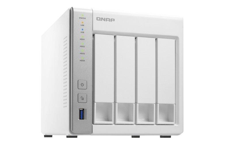 QNAP TS-431P 6TB (3 x 2TB WD RED) 4 Bay Desktop NAS