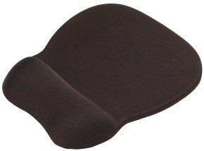 Memory Foam Mouse Pad Wrist Rest Black