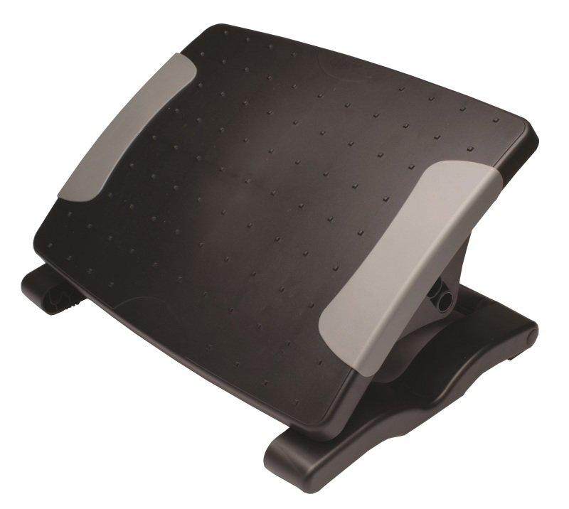 Executive Adjustable Footrest Black