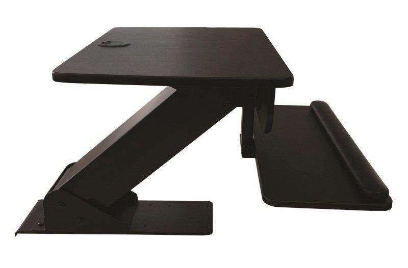 Image of Contour Ergonomics Sit Stand Workstation Black CE77691