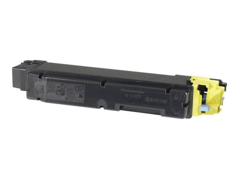Kyocera Yellow TK-5140Y Toner Cassette